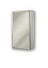 NuTone 7255246D Stainless Steel Beveled Cabinet