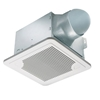Delta SMT130H Bathroom Fan With Humidity Sensor Delta bathroom fans, delta fans, bathroom fan, exhaust fan, quiet bathroom fan, quiet fan,