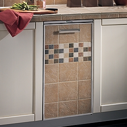 "Broan 15TT Broan Elite 15"" Compactor with Tile Trim Door Pan"