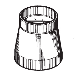 Broan 472 Reducer Damper