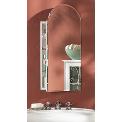 "NuTone 52WH244PA Arch - 1/2"" Beveled Mirror"