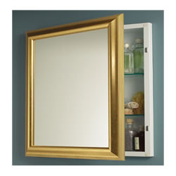 NuTone 535224 Monaco Gold Tone Finish-Single-Recessed