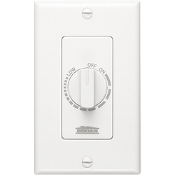 Broan 57W Bathroom Fan Wall Control