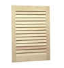 NuTone 607ADJ Unfinished Wood-Single-Recessed
