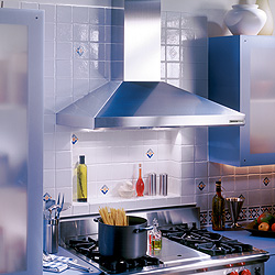 Broan 619004 35 7/16 Inch Chimney Range Hood, Stainless Steel