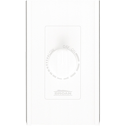 Broan 72W Bathroom Fan Wall Control