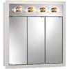"NuTone 755371 30""W x 30""H - Classic White/Lighted Cabinet"