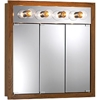 "NuTone 755403 30""W x 30""H - Honey Oak/Lighted Cabinet"