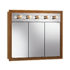 "NuTone 755411 36""W x 30""H - Honey Oak/Lighted Cabinet"