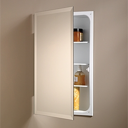NuTone 807P24WH Single-Door Recessed Cabinets