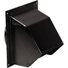 Broan 843BL Wall Caps -Black