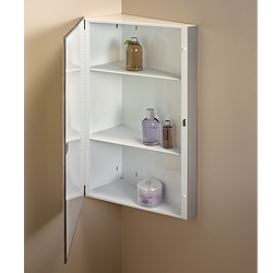 NuTone 860P30CH Single-Door Corner Cabinets