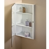 NuTone 860P36CH Single-Door Corner Cabinet