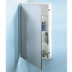 NuTone 867P30WH Single-Door Corner Cabinet