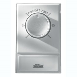 Nutone 86W Line Voltage Wall Thermostat