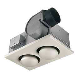 NuTone 9427P Two-Bulb Heat-A-Vent®