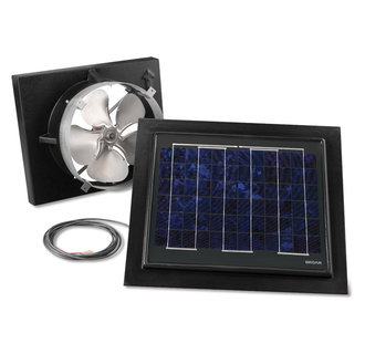 Broan 353SOBK Solar Gable Mounted Roof Fan