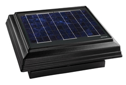 Broan 355CSO Solar PAV, Curb Mount with Black Uv Enhanced ABS Dome