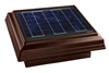 Broan 355CSOBR Solar PAV, Curb Mount with Brown Uv Enhanced ABS Dome