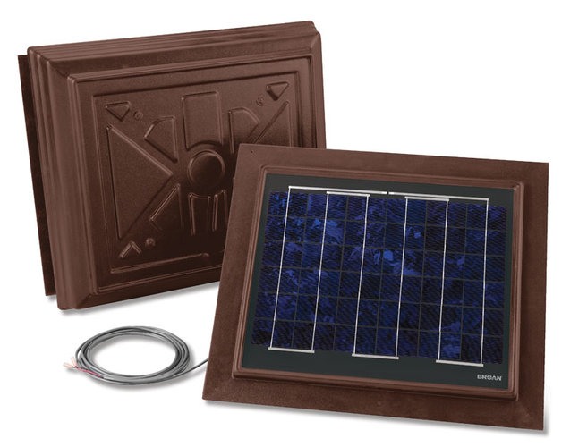 BROAN 355RSOBR Solar Pav, Remote Mount with Brown UV Enhanced Abs Trim