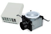 Fantech PBW110 EXTERIOR WALL MOUNT FANS AND FANS WITH LIGHTS