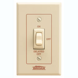 Broan 64W Bathroom Fan Wall Control