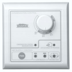Nutone VT2W Bathroom Fan Wall Control