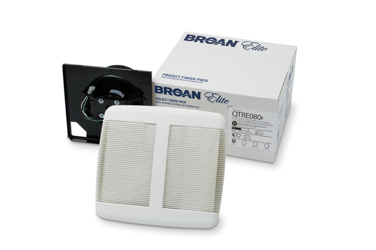 Broan QTR110F Bathroom Fan finish Pack