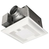 Panasonic FV-13VKL3 Bathroom Fan 130 CFM, 1.3 Sone, Ceiling Mounted Ventilation Fan with DC Motor and Light