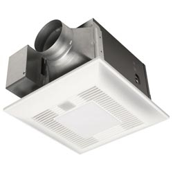 Panasonic FV-08VKL3 Bathroom Fan, 80CFm .6 Sones