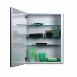 "NuTone 52WH244P Metro Classic Frameless Medicine Cabinet 24"" High, 4"" Depth, 1/2"" Beveled Trim"