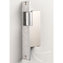 NuTone DR1SA Electric Wood Door Release - Silver Anodized