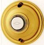 Nutone PB62LPB Wired Door Bell Push Button