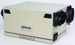 Broan HRV90HT Versatile & Compact - Top Ports