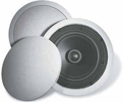 "Linear S50C Ceiling Speakers-50 Watt-6-1/2"" Flush Mount"
