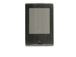 Linear MSD3N Intercom Door Station with Bell Button (Antique Brass)