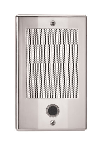 The NDB300N NM Series Door Speaker-Nickel Finish