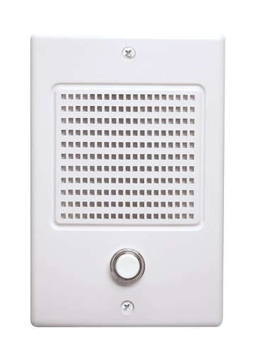 NuTone NDB300WH NM Series Door Speaker - White Finish