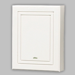 Nutone LA100WH Wired Door Chime White Finish Two-Note Doorbell Chime