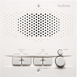 NuTone NRS200WH Indoor Remote Station - White