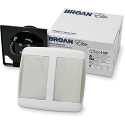 Broan QTRE110F Bathroom fan finish Pack