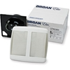 Broan QTR050F Ventilation - Bathroom FansProject Finish Pack, 0.4 Sones, 50CFM
