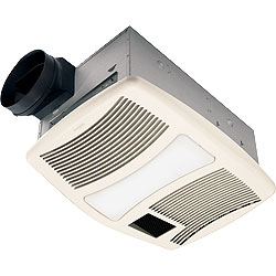 Nutone QTXN110HFLT Bathroom Fan 110 CFM 0.9 Sones Fan