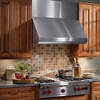 "Broan E60E30SS 30"" High Performance Range Hood with External Blower Capacity"