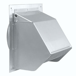 Broan Aluminum Air Inlet Wall Cap Model 641FA