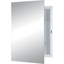 NUTONE 781029 Recessed Mount Cabinet, Frameless Mirror