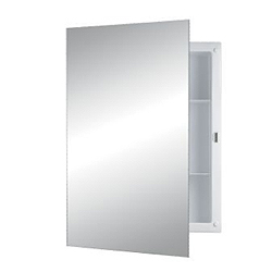 Nutone 781053 Recess Mount Cabinet - Frameless Mirror