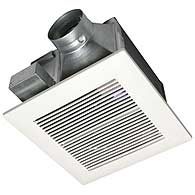 Panasonic FV-08VKS2 Bathroom Fan 80CFM 30-70 CFM Variable, 0.3 Sone