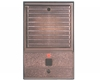 Valet Louvered Style AntiqueBrass Door Station - Louvered - Antique Brass