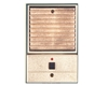 Valet Louvered Style BrightBrass Door Station - Louvered- Bright Brass